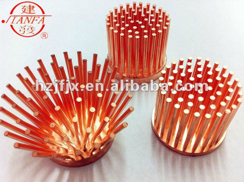 Extruded Copper LED Heat sink/Heat dissipator