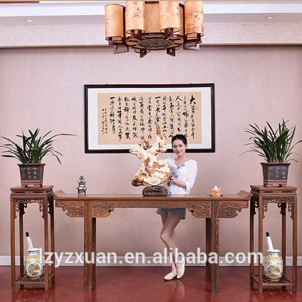 Chinese Antique Design Authentic Mahogany Wooden Home Altar Table on Sale