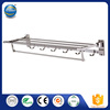 Bathroom Accessory high quality stainless steel foldable towel rack with best price