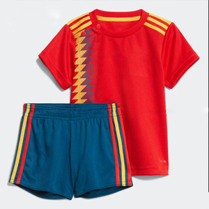 Free shipping to Belgium Germany spain youth child football shirt uniform 2018 customized colombia Argentina soccer jersey