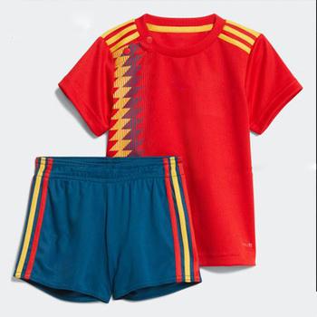 dd0b5789a044a Frete grátis para a Bélgica Alemanha espanha juventude criança camisa de futebol  uniforme 2018 personalizado colômbia