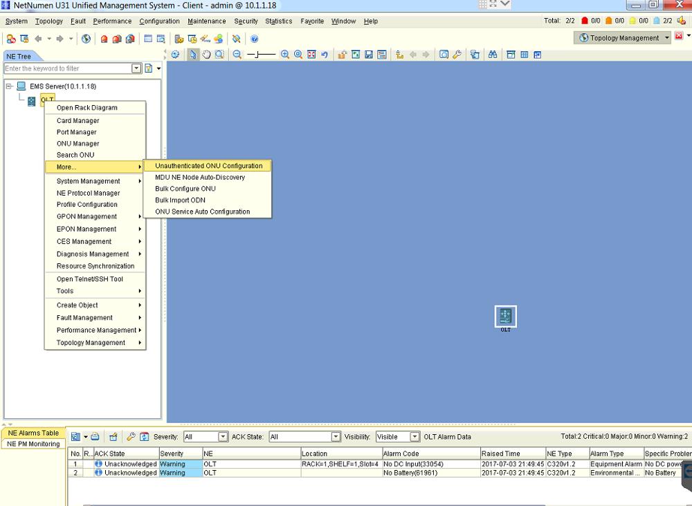 Olt Monitoring Software
