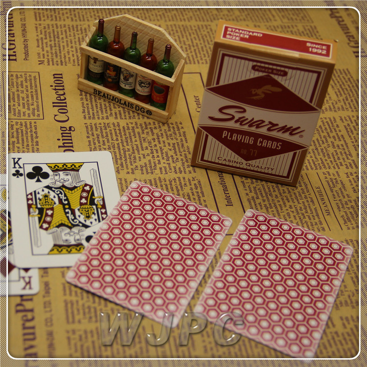 Professional Customized Casino Quality Paper Material Large Playing Cards Printing