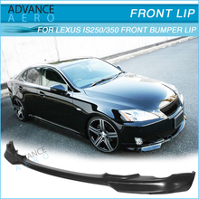 UNTUK 2006 2007 2008 <span class=keywords><strong>LEXUS</strong></span> <span class=keywords><strong>IS250</strong></span> IS350 WD STYLE POLY URETAN FRONT BUMPER LIP SPOILER BODY KIT
