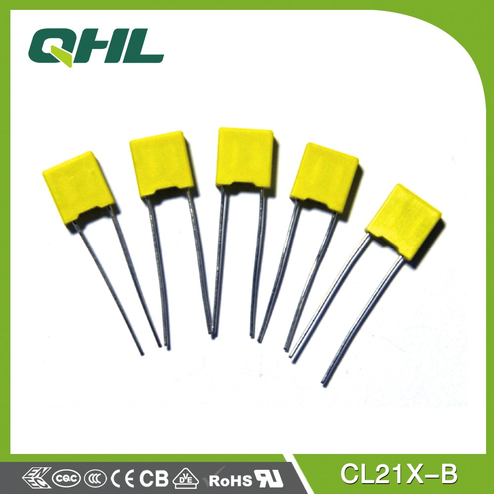 CL21X polyester film capacitor rated voltage 1200v