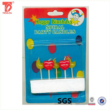 Hot Selling Unusual Birthday Candles Numerals Candle With Low Price