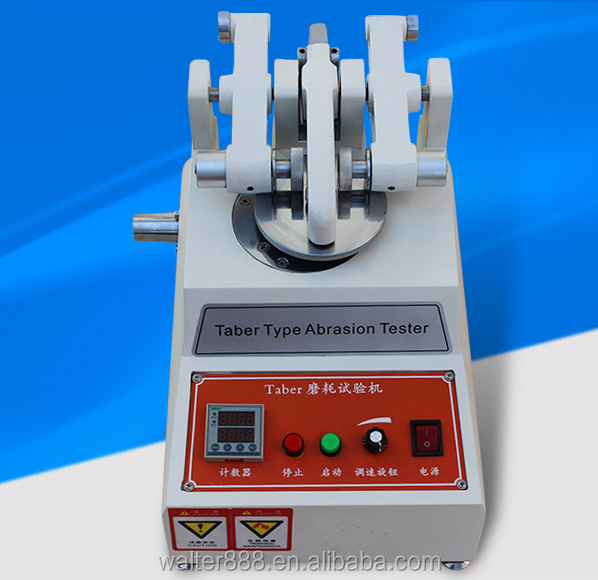 Used Taber Abrasion Tester Painted Surface