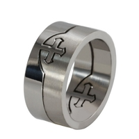 New style best-selling fit any size titanium ring finger