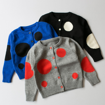 Phb10123 Dots Design Mode Jungen Baby Strickjacke Strickmuster - Buy ...