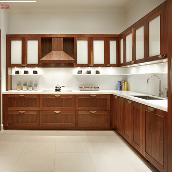2019 Hot Solid Wood Kitchen Cabinet For Pantry Cupboards Sri Lanka