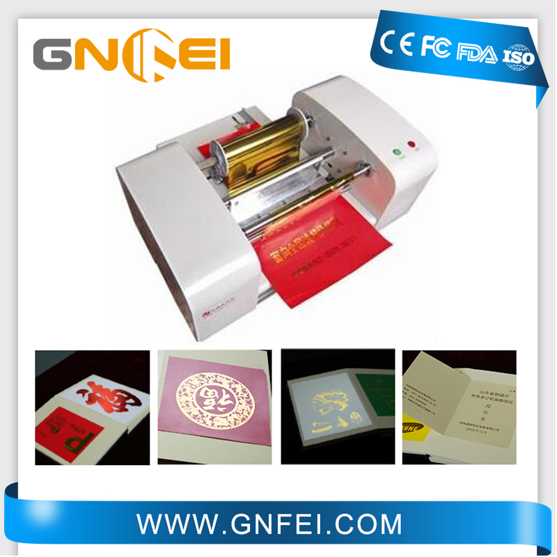 Custom size hot foil stamp machine