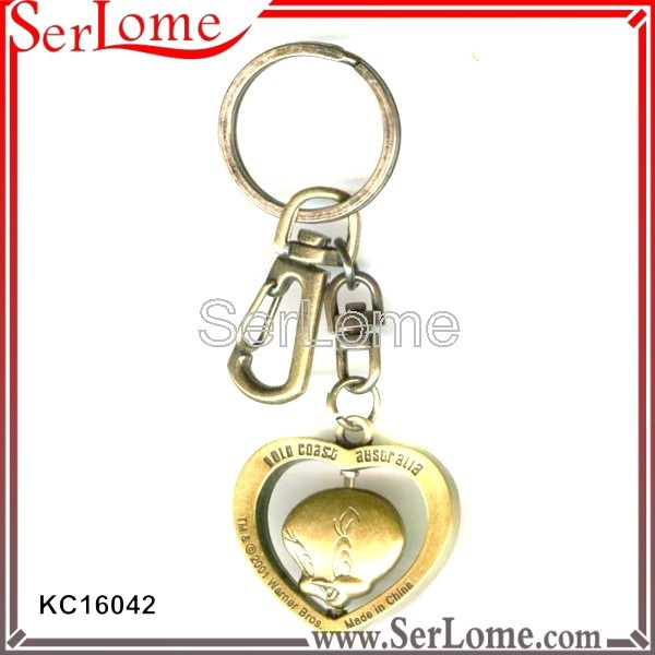 Spinner Voal Shape keychain countdown timer manufacture
