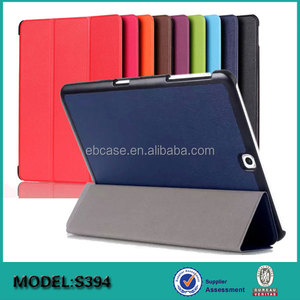 Ultra thin smart cover folio flip leather case for Samsung Galaxy Tab S3 9.7 SM-T820 825