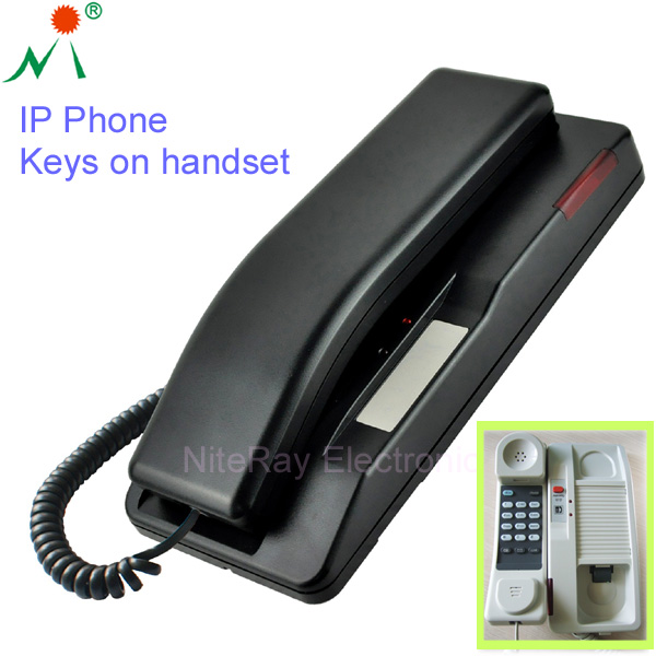 Cheap sip phone wall mounted slim hotel bathroom telephone
