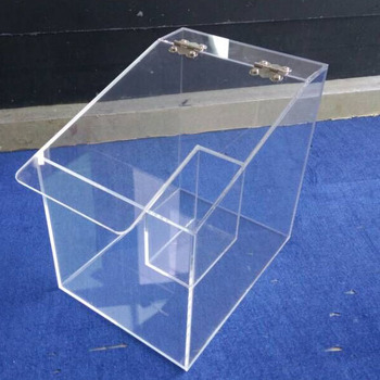 Eco Friendly Plexiglass Acrylic Food Storage Containers With Lid OEM Factory