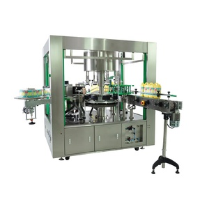OPP label automatic bottle sticker labeling machine Malaysia factory price for flat bottle 6000-36000 BPH