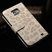 fancy wallet pu leather power bank case for samsung galaxy s2 i9100