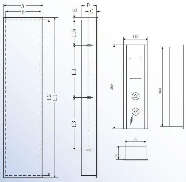 Elevator Cabin Operating Panel Buy Elevator Cabin Operating Panel