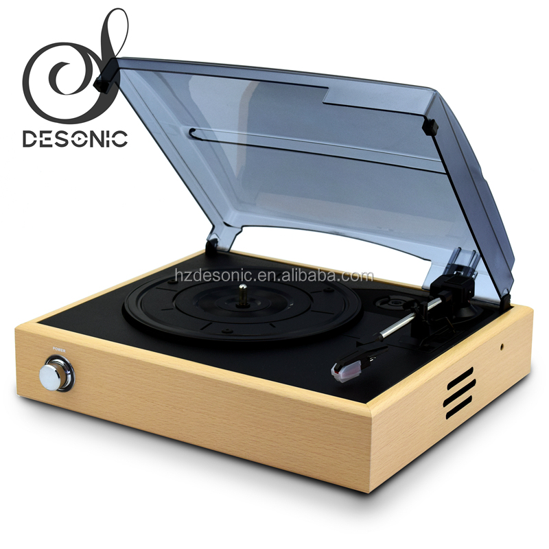 Best price black vinyl turntable,automatic turntables with diamond stylus needle