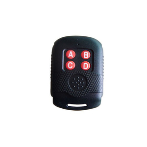 Variable frequency low cost wireless plastic remote control duplicator, cloning remote face to face