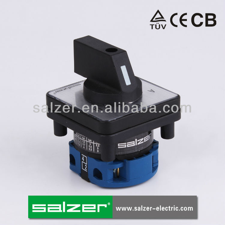 SALZER (TUV,CE and CB Approved )SA16 3-1 manual changeover switch