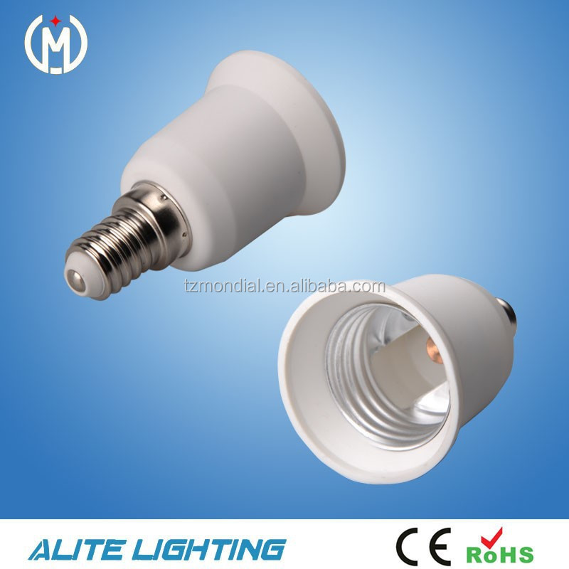 E14 To E27 Lamp Socket Adaptor Type E27 Holder Adapter