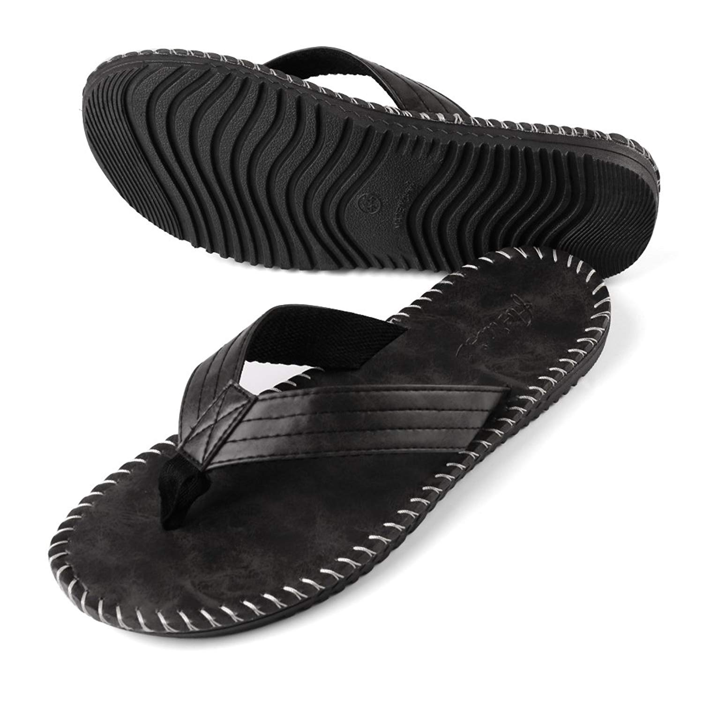 6f51fed63 Get Quotations · Men s Sandal Sporty Outdoor Slide Flat Sandal Primo Thong Flip  Flop Shoe