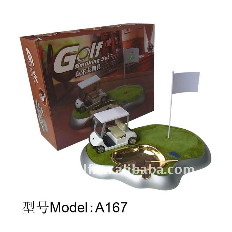 A167 GOLF SMOKING SET