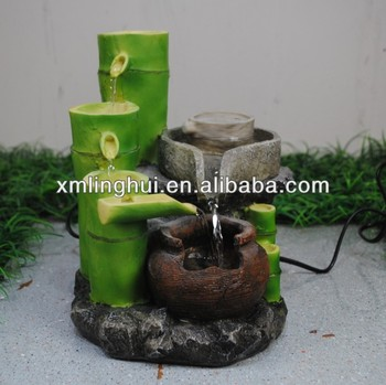 Tabletop Fountain Bamboo Indoor Water Fountain - Buy Indoor Water ...
