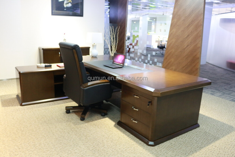 Big Office Desk Large Executive Desk, High End Desk Luxury Office Furniture  Made In China