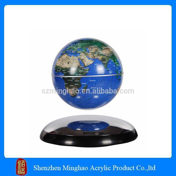 High quality Acrylic magnetic levitation floating globe display