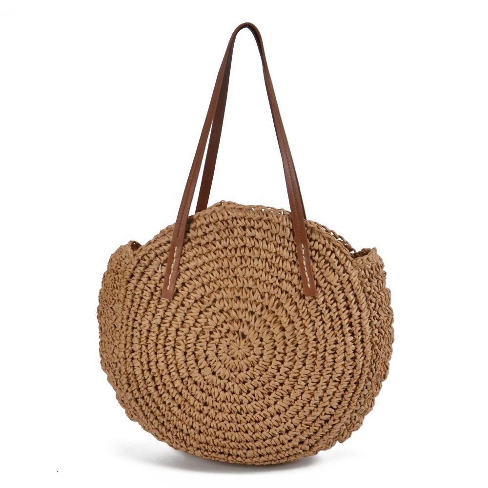 Venta al por mayor Round crochet bag Compre online los