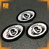 embroidered woven patch coat of arms patches for garment