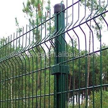 3d Galvanized Pvc Coated Welded Wire Mesh Trellis Panel Fence ...