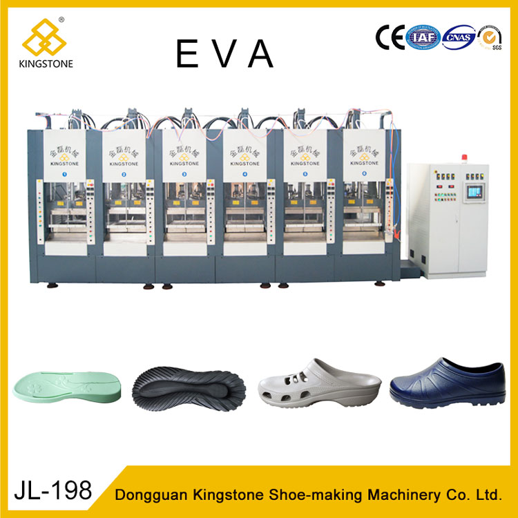 f11e2c85c5f Automatic EVA Footwear Foam Machine for Slipper Sandals Flip Flops Soles
