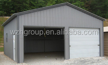 Beautiful Sandwich Panel Carport / Shed With 50mm Thick Eps Foam Roof Panel