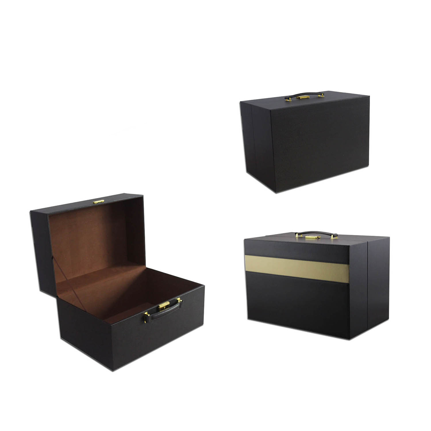 Custom fashion leather storage box&cosmetic box