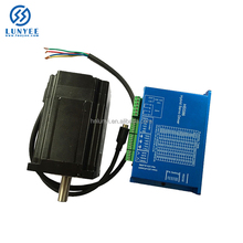 nema34 closed loop stepper motor 12N with feedback driver , easy servo motor