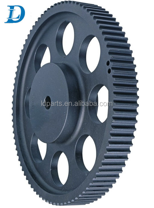 Die Casting Aluminum T5 T10 HTD 8M 5M Drive Pulley