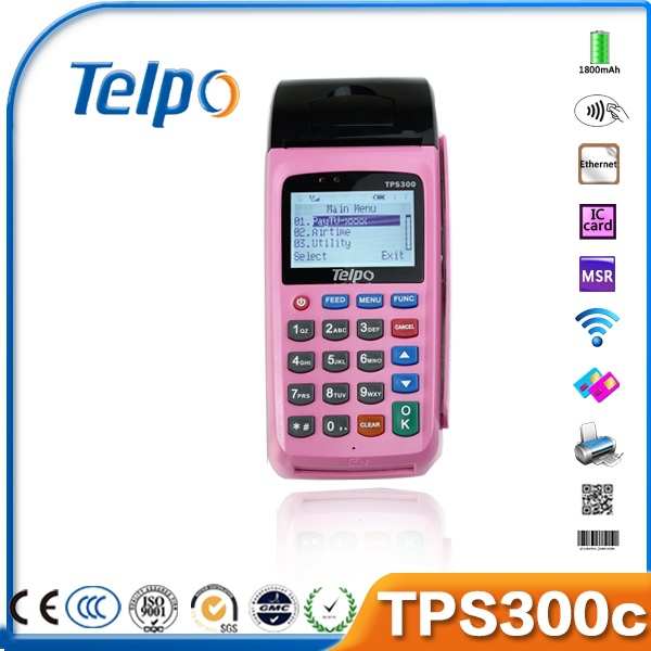 Telpo Prepaid Payment TPS300C Bluetooth Printer for Bus and Taxi Ticket