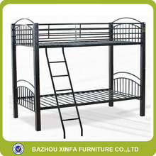 Elegant Black Painting USA Countryside Vintage Wrought Iron Bed