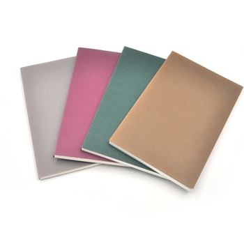wholesale cheap a4 a5 a6 kraft page cover blank notebook