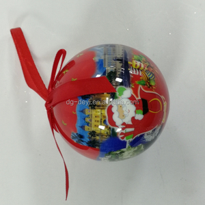 Colorful Plain Xmas Glass Ball Ornaments Christmas for Tree