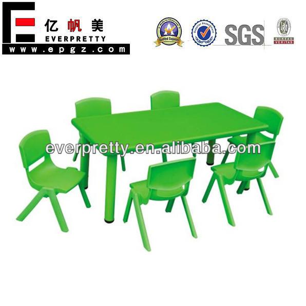 De plástico muebles infantiles, y mesa de comedor de los niños ...