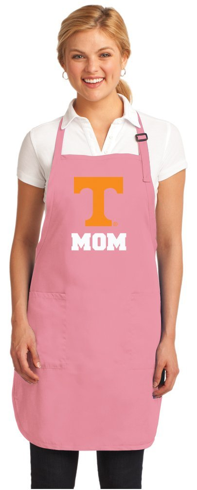 Pink University of Tennessee Mom Apron DELUXE Tennessee Mom Aprons MADE IN THE USA