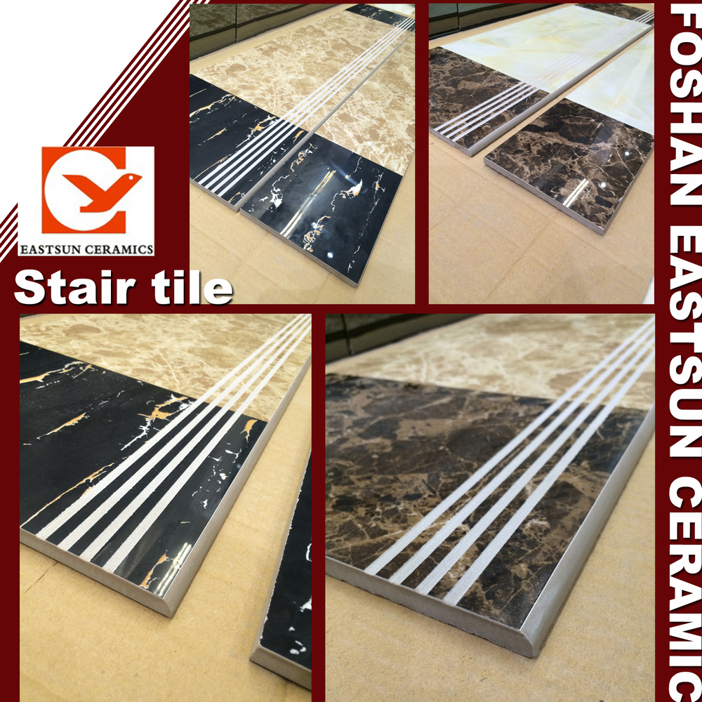 Low Price Non Slip Interior Ceramic Tile Stair Nosing Step