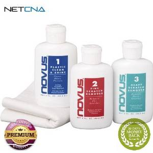 Get Quotations Novus Cleaning And Scratch Remover Kit For Plastic Lens Ports