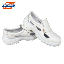 White no lace ESD antistatic nurse medical chef kitchen lab safety work shoes