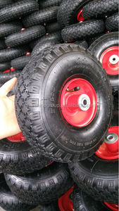 china cheap price pneumatic rubber wheel 4.00-4