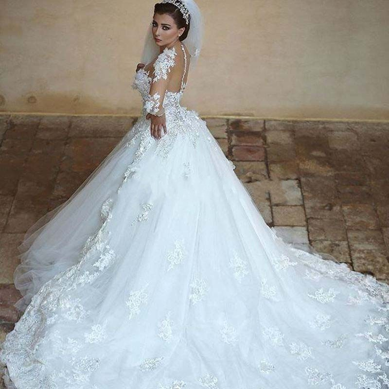 Vintage White Gowns 50